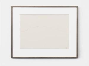 """KU"" drawn in Red by Tatsuo Miyajima contemporary artwork"