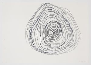 Ocean Drawing 6 by Joan Jonas contemporary artwork works on paper, drawing