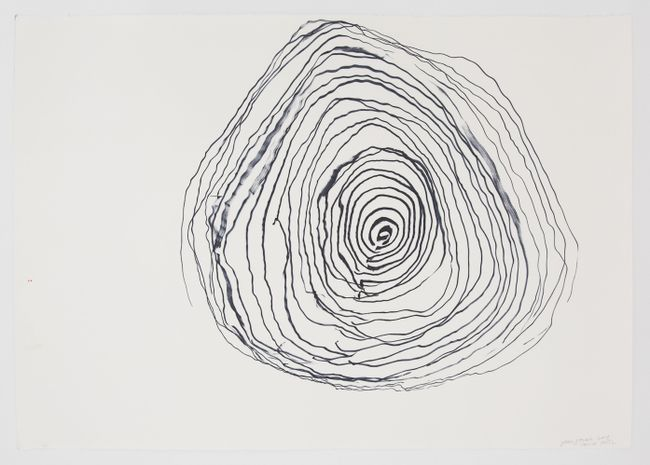 Ocean Drawing 6 by Joan Jonas contemporary artwork