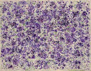 2004 Luxuriant Purple with Tinges of Green by Ye-Cheng Yen contemporary artwork