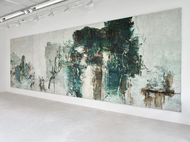 Exhibition view: Tu Hongtao, Twisting and Turning, Lévy Gorvy, 40 Albemarle Street, London (6–31 October 2020). © Tu Hongtao. Courtesy Lévy Gorvy. Photo: Stephen White & Co.