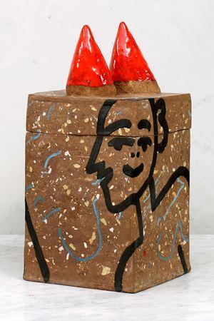 Untitled Box by Johanna Schweizer contemporary artwork