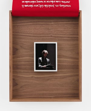 Jose Tomas by Sophie Calle contemporary artwork