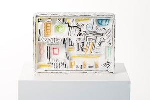 LêAutre Sculpture by Etel Adnan contemporary artwork