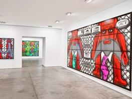 "Gilbert & George<br><em>THE BEARD PICTURES</em><br><span class=""oc-gallery"">Lehmann Maupin</span>"