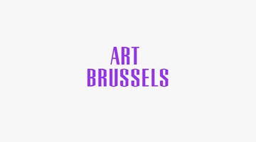 Contemporary art exhibition, Art Brussels 2017 at Galerie Christian Lethert, Cologne