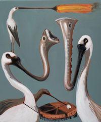 Rhythm Section by Joanna Braithwaite contemporary artwork painting