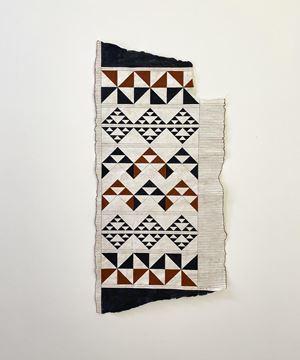 Taparau II by Nikau Hindin contemporary artwork textile