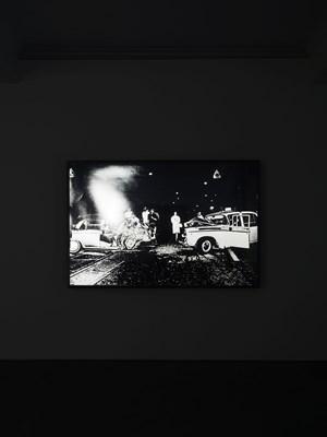 Lightbox: Accident by Daido Moriyama contemporary artwork