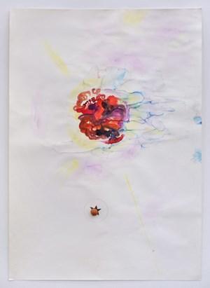 Untitled: David Bowie by Róza El-Hassan contemporary artwork