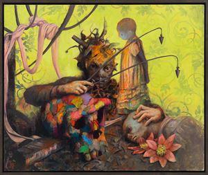 Altlot by Jonas Burgert contemporary artwork