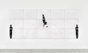 Caduta libera (suicida felice) by Giulio Paolini contemporary artwork