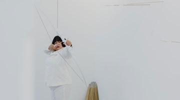 Contemporary art exhibition, Melati Suryodarmo, Transaction of Hollows performance at ShanghART, Singapore