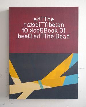 The Tibetan Book Of The Dead (3) by Heman Chong contemporary artwork