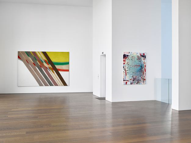 Exhibition view: Group Exhibition,Surface Work,Victoria Miro Gallery II, Wharf Road, London (11 April–19 May 2018). Courtesy Victoria Miro, London/Venice.