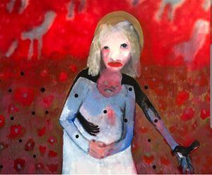 Messenger by Sally Bourke contemporary artwork