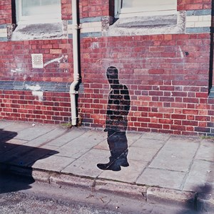 Portrait of the Artist as a Shadow of his Former Self by Keith Arnatt contemporary artwork