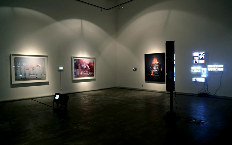 Exhibition view: Group Exhibition, V&P, ShanghART, Beiling (20 December 2014–26 February 2015). Courtesy ShanghART.