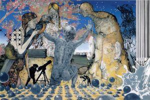 Lieber Vogel, fliege weiter by Wolf Hamm contemporary artwork