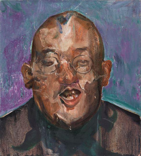 Laugh #1 by Zhu Xiangmin contemporary artwork
