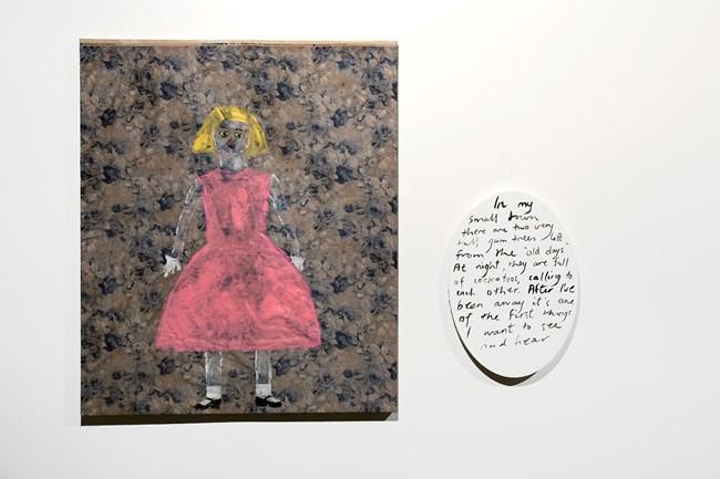Flower girl by Jenny Watson contemporary artwork