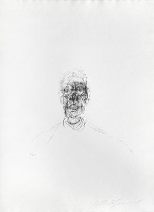 Tête d'homme III by Alberto Giacometti contemporary artwork