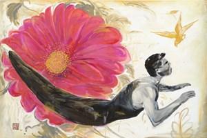 Petals And Flowers 花瓣與花 by Fu-sheng Ku contemporary artwork