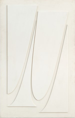 Schattenlineaturen by Karl-Heinz Adler contemporary artwork