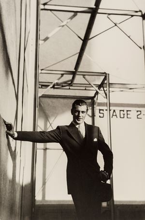 Gary Cooper by Cecil Beaton contemporary artwork
