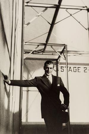 Gary Cooper by Cecil Beaton contemporary artwork