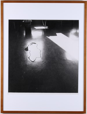 Symptom-Floor, Water  (P.W.-No.50) by Koji Enokura contemporary artwork