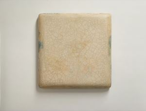 Infinity - Blanched Almond 冰裂 - 汝白 by Su Xiaobai contemporary artwork