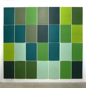 Horizonte Verde by Xavier Veilhan contemporary artwork