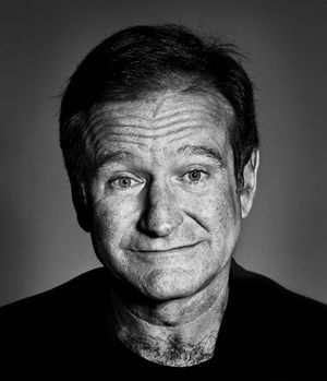 Robin Williams by Andy Gotts contemporary artwork photography, print