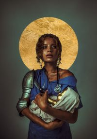 Counting Blessings by Haris Nukem contemporary artwork print
