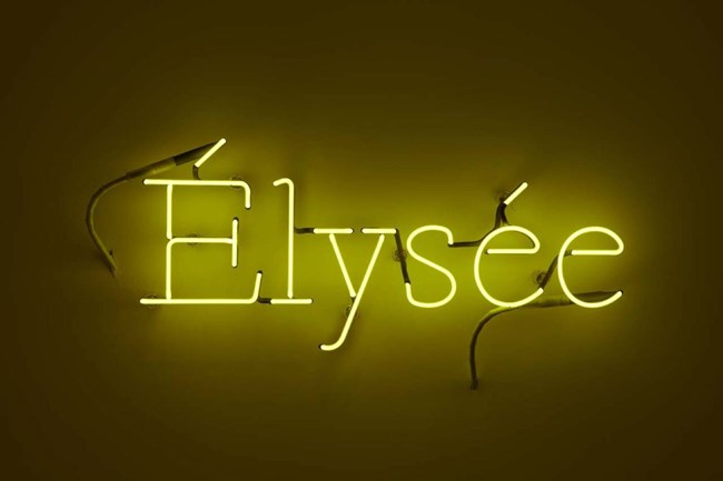 Elysée by Laurent Grasso contemporary artwork
