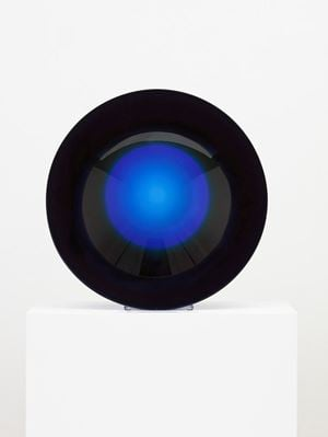 Untitled (parabolic lens) by Fred Eversley contemporary artwork