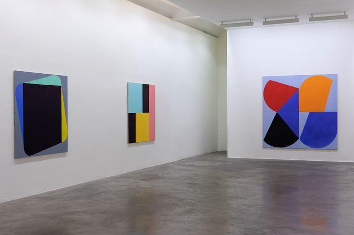 Exhibition view: Richard Gorman,dalkey,Kerlin Gallery, Dublin (6 March–9 April 2020). Courtesy the artist and Kerlin Gallery, Dublin.