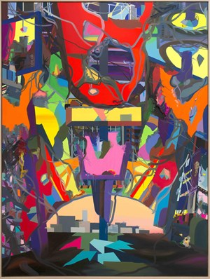 Sunrise by Franz Ackermann contemporary artwork