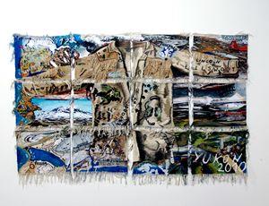 Norden by Ingrid Wiener contemporary artwork