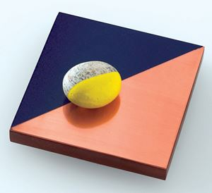 Parkett Paperweight, 2004 (For Parkett 71) by Keith Tyson contemporary artwork