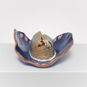 Sombrero Ceramic Aqua by Ken Taylor contemporary artwork