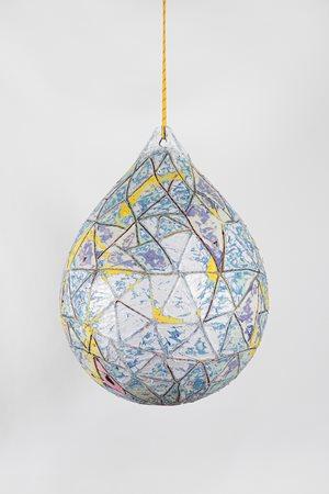 The Loop of Deep Waters 2 by Mark Bradford contemporary artwork