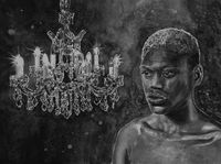 Romeo (Chandelier) by Hans Op de Beeck contemporary artwork painting, works on paper