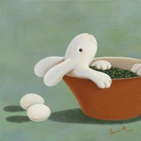 Nine days of therapeutic tea ceremony-- day 1 by Benrei Huang contemporary artwork painting