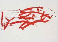 Ocean Drawing 3 by Joan Jonas contemporary artwork painting, works on paper, drawing