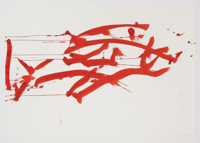 Ocean Drawing 3 by Joan Jonas contemporary artwork