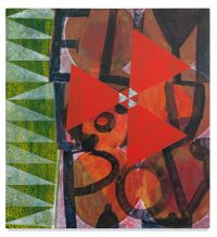 untitled #1132, by Roy Dowell contemporary artwork painting, works on paper