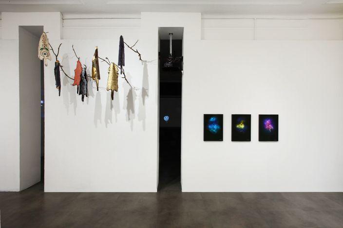 Exhibition view: Group Exhibition,SHAMANISM, Mimmo Scognamiglio Artecontemporanea, Milan (7 May–2 July 2021).Courtesy Mimmo Scognamiglio Artecontemporanea.