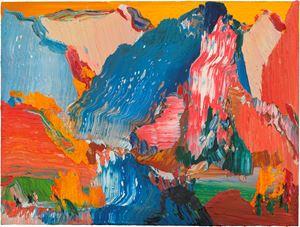 Autumn Mountain by Yin Zhaoyang contemporary artwork